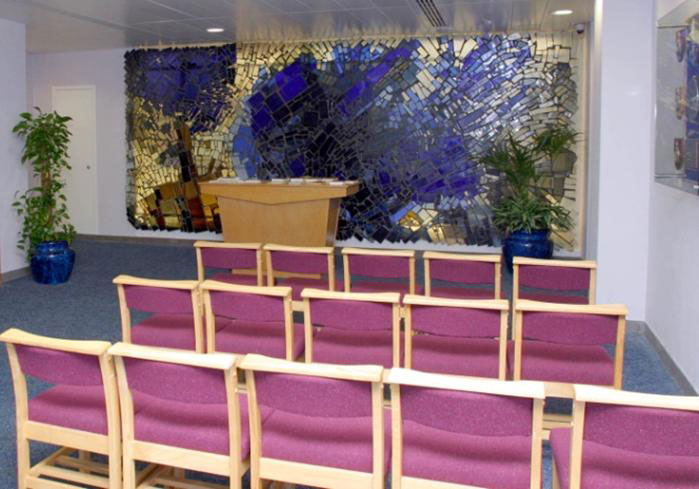 Manchester Airport Terminal  Prayer Room